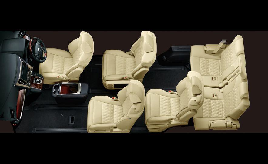 Toyota Alphard Executive Lounge hybrids (JDM-spec) - Slide 19