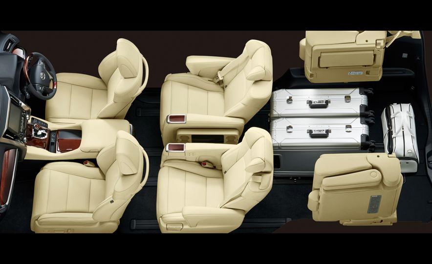 Toyota Alphard Executive Lounge hybrids (JDM-spec) - Slide 25