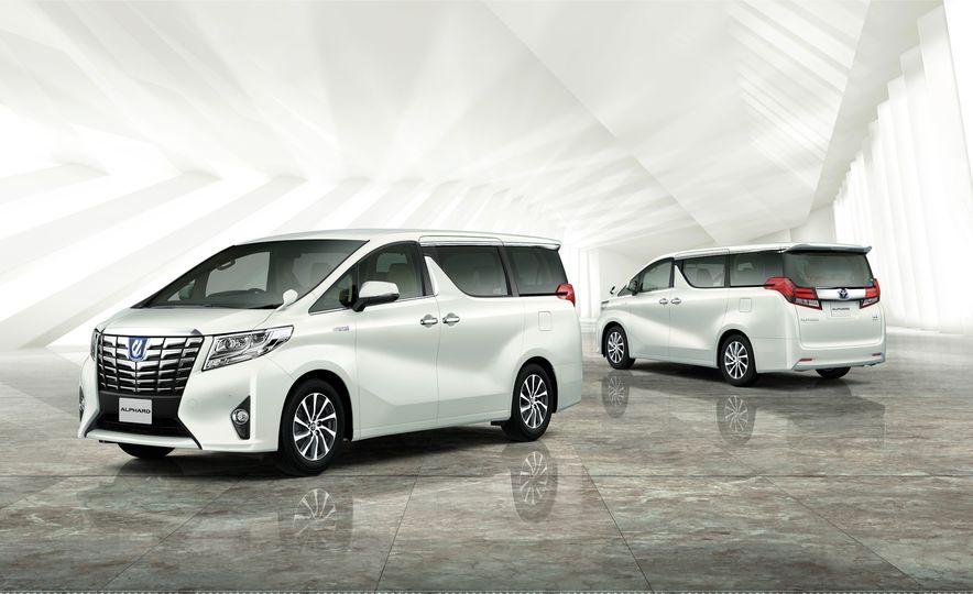 Toyota Alphard Executive Lounge hybrids (JDM-spec) - Slide 3