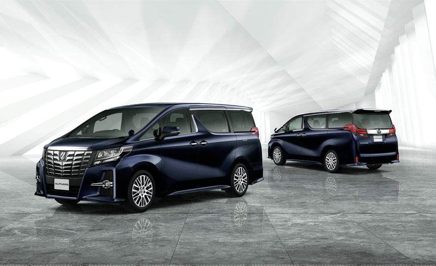 Toyota Alphard Executive Lounge hybrids (JDM-spec) - Slide 4