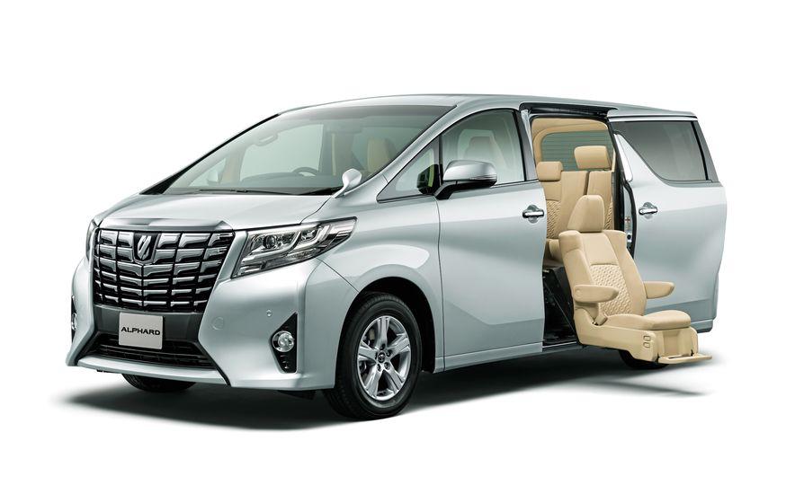 Toyota Alphard Executive Lounge hybrids (JDM-spec) - Slide 5