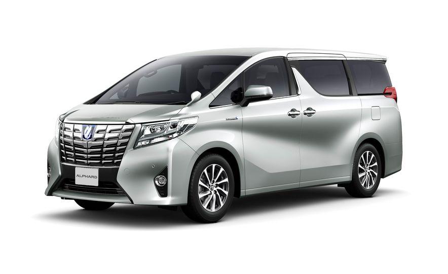 Toyota Alphard Executive Lounge hybrids (JDM-spec) - Slide 6