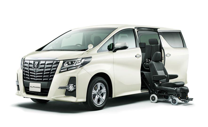 Toyota Alphard Executive Lounge hybrids (JDM-spec) - Slide 7