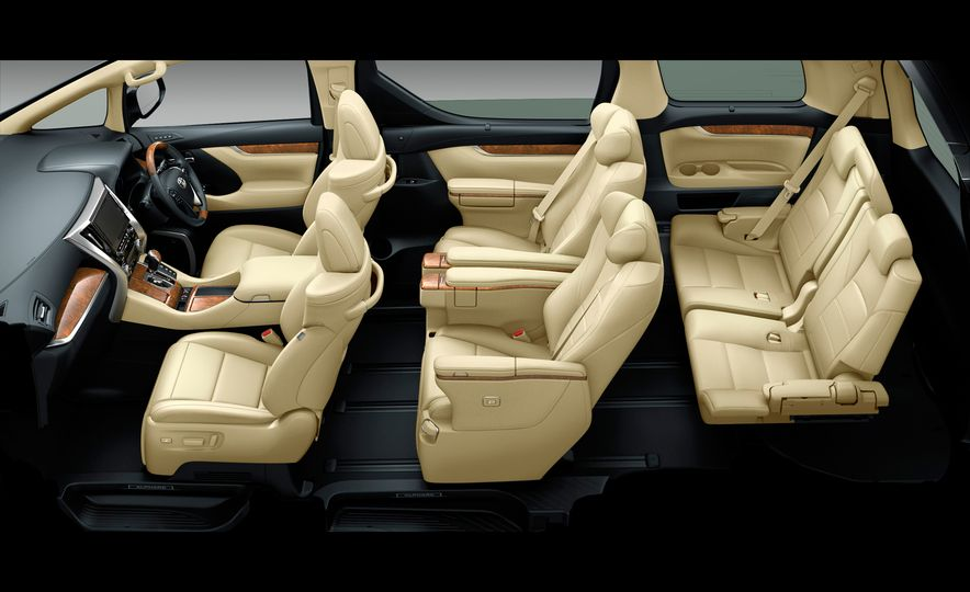 Toyota Alphard Executive Lounge hybrids (JDM-spec) - Slide 8