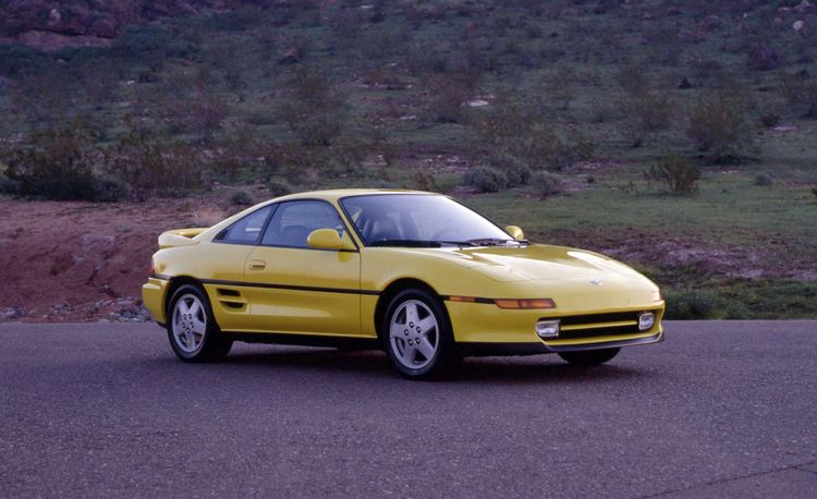 Toyota MR2 Turbo – Archived Test