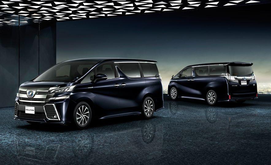 Toyota Alphard Executive Lounge hybrids (JDM-spec) - Slide 10
