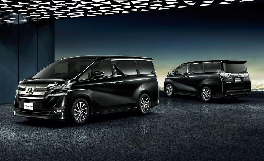 Toyota Alphard Executive Lounge hybrids (JDM-spec) - Slide 12