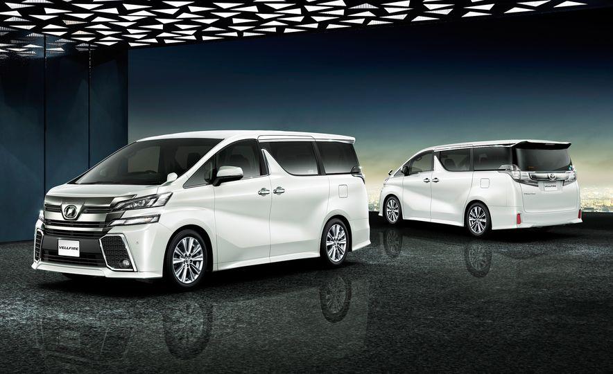 Toyota Alphard Executive Lounge hybrids (JDM-spec) - Slide 14