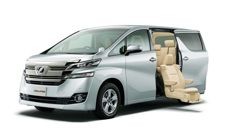 Toyota Alphard Executive Lounge hybrids (JDM-spec) - Slide 16