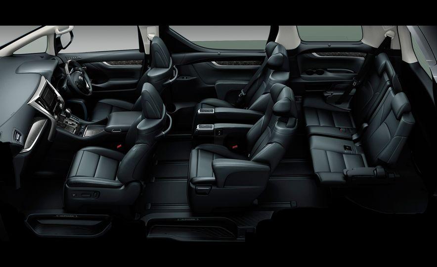 Toyota Alphard Executive Lounge hybrids (JDM-spec) - Slide 17