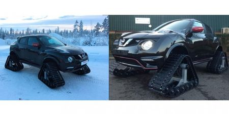 Yes, Nissan Actually Built a Juke NISMO RS on Tracks