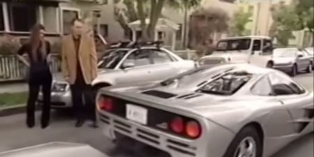 Video: Young Elon Musk Takes Delivery of McLaren F1 in 1999
