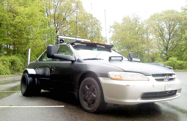 Mad Max Honda Accord Dually Turns the HOV Lane Into Thunderdome