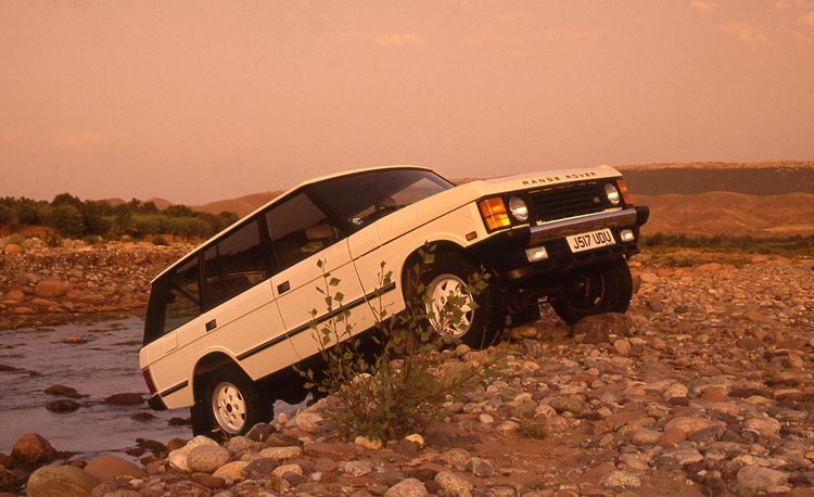 1993 Range Rover County LWB – Archived Instrumented Test