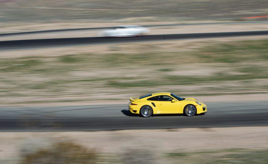 2014 Porsche 911 Turbo S, 2015 Nissan GT-R NISMO, and 2015 Chevrolet Corvette Z06 - Slide 38