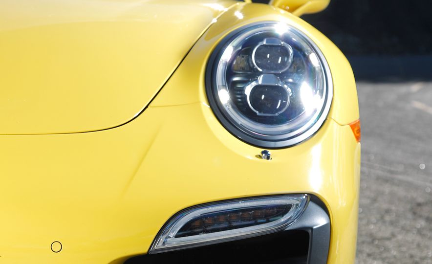 2014 Porsche 911 Turbo S, 2015 Nissan GT-R NISMO, and 2015 Chevrolet Corvette Z06 - Slide 47