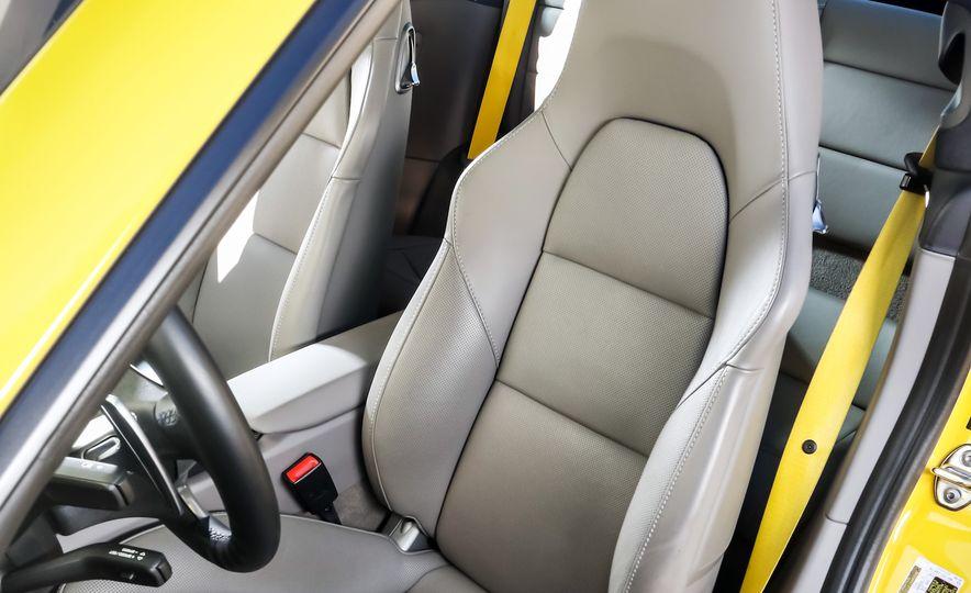 2014 Porsche 911 Turbo S, 2015 Nissan GT-R NISMO, and 2015 Chevrolet Corvette Z06 - Slide 50