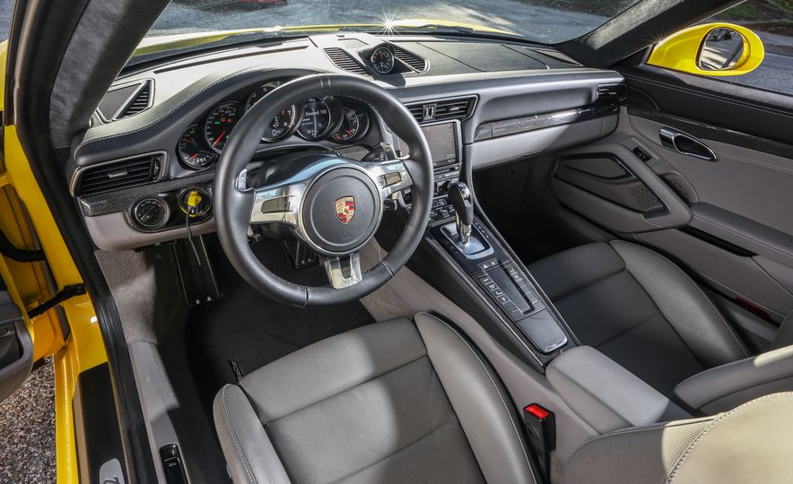 2014 Porsche 911 Turbo S, 2015 Nissan GT-R NISMO, and 2015 Chevrolet Corvette Z06 - Slide 51