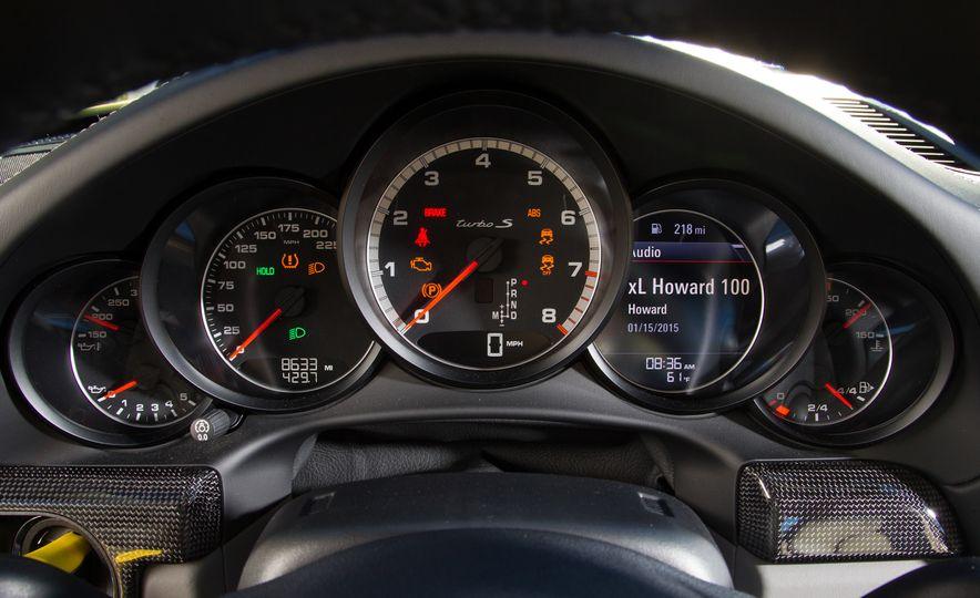 2014 Porsche 911 Turbo S, 2015 Nissan GT-R NISMO, and 2015 Chevrolet Corvette Z06 - Slide 54