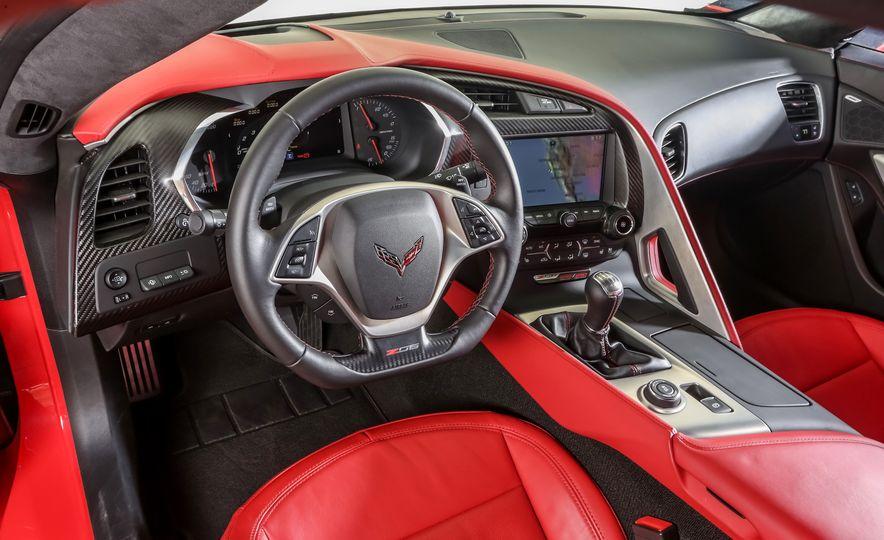 2014 Porsche 911 Turbo S, 2015 Nissan GT-R NISMO, and 2015 Chevrolet Corvette Z06 - Slide 78