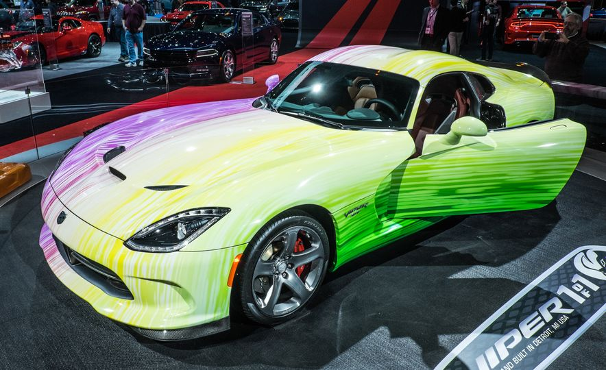 2015 Dodge Viper SRT PAAS Easter Egg Edition - Slide 1
