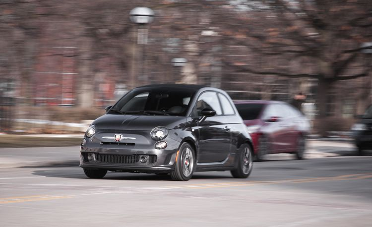 2015 Fiat 500C Abarth Automatic – Instrumented Test