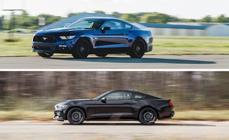 Five-Oh vs. Eco: 2015 Ford Mustang GT Manual and Mustang EcoBoost Manual Performance Compared