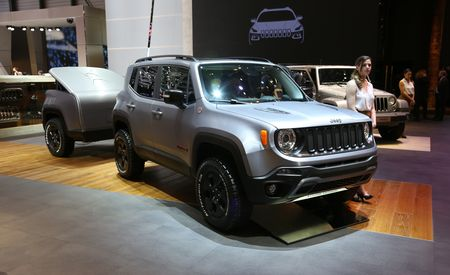Two Cute: Tiny Jeep Renegade Concept Gets Even Tinier Matching Trailer
