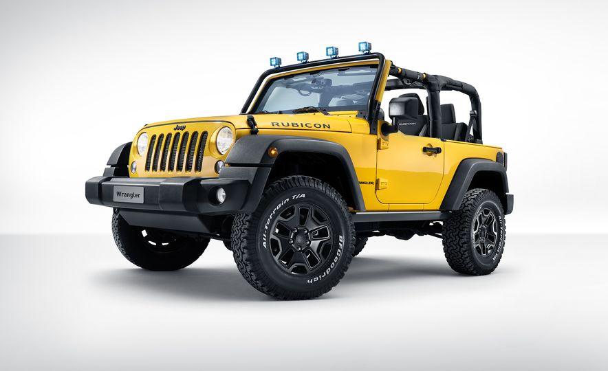 2015 Jeep Wrangler Rubicon MOPAR Rocks Star Edition - Slide 1