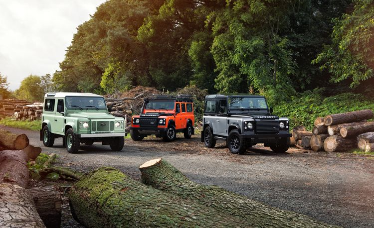 Say Bye: Land Rover Defender Bows Out with Three Final Editions