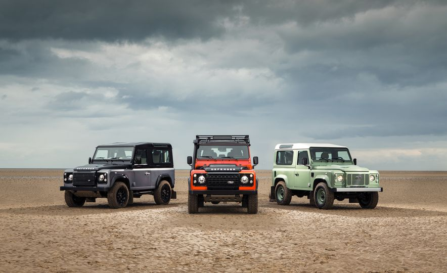 Worksheet. 2015 Land Rover Defender Heritage Edition Adventure Edition and