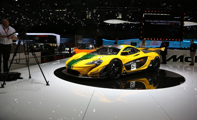 2015 McLaren P1 GTR: A $3.1-Million Track Weapon – Official Photos and Info