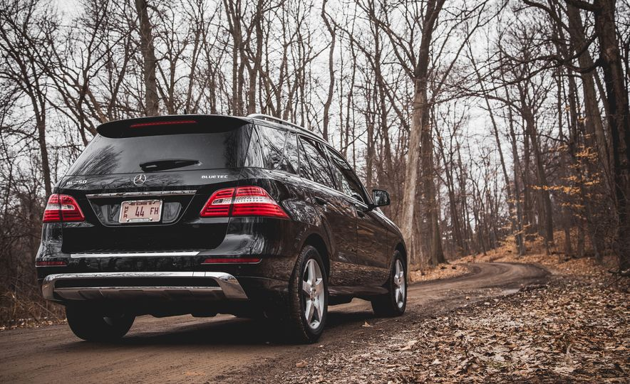 2015 Mercedes-Benz ML250 BlueTec 4MATIC - Slide 10