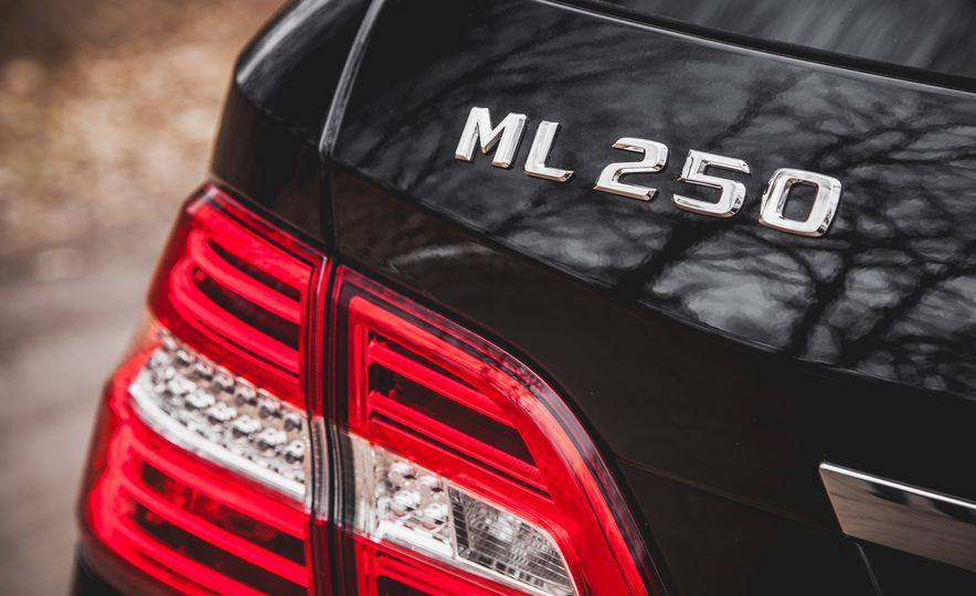 2015 Mercedes-Benz ML250 BlueTec 4MATIC - Slide 20