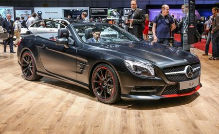 "Sophisticated Fitch: Mercedes Commemorates 1955 With 550SL ""Mille Miglia 417"""