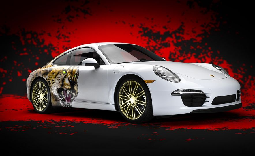 2015 Porsche 911 Carrera Adidas Uncaged Edition - Slide 1