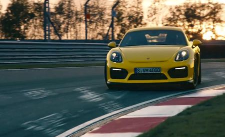 Watch and Listen as the Porsche Cayman GT4 Attacks the Nürburgring