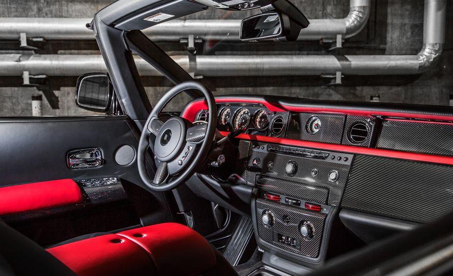 2015 Rolls-Royce Phantom Drophead coupe Nighthawk Edition - Slide 14