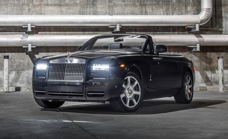$570K Rolls-Royce Phantom Drophead Coupe Nighthawk Swoops onto American Shores