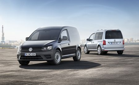 A New Caddy Cruises Into Europe . . . A Volkswagen Caddy, That Is