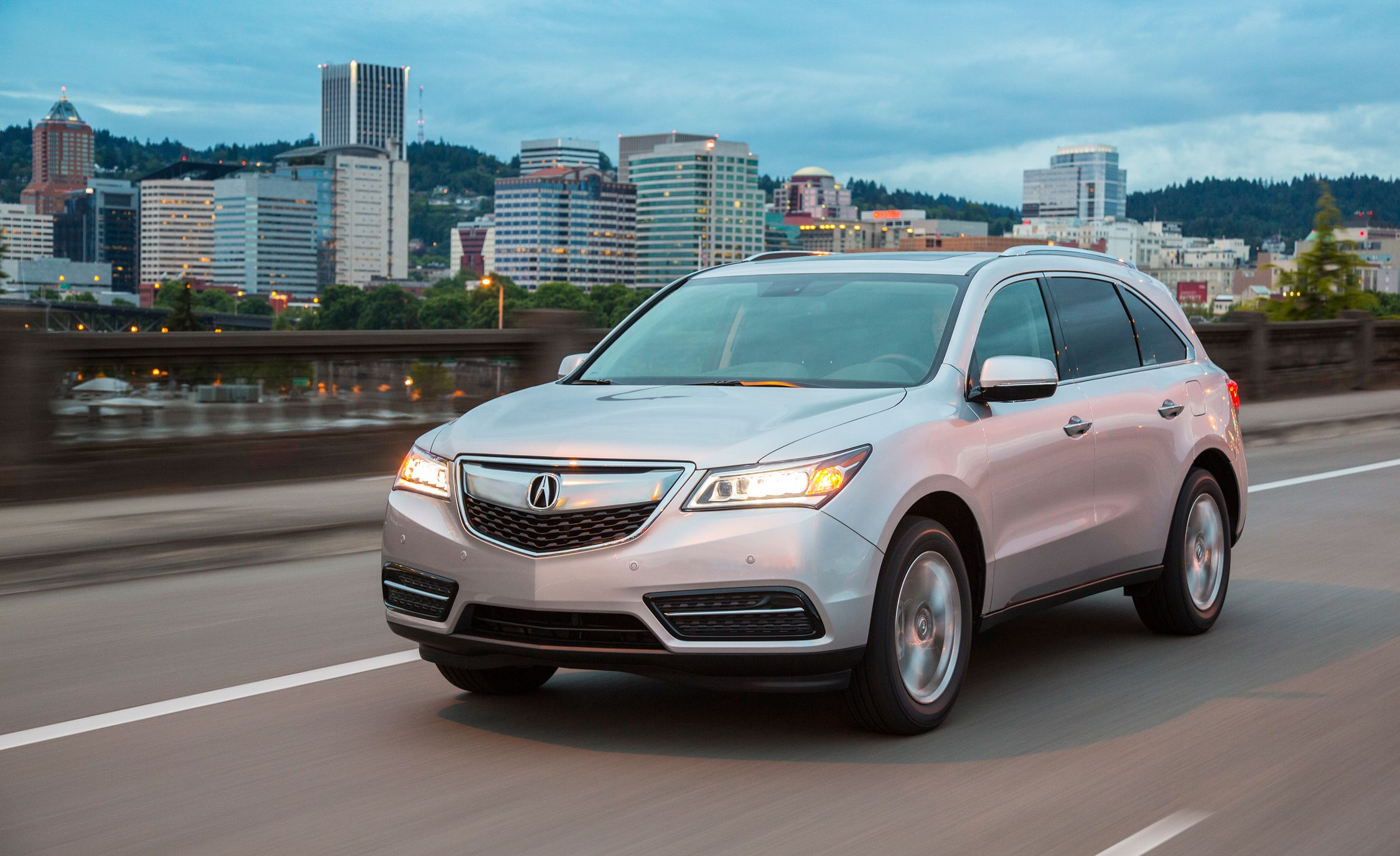 Acuras 2016 MDX Gets Nine Gears More Electronic Stuff  Car and