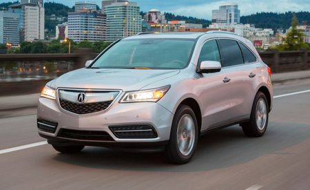X-Ray Specs: 2016 Acura MDX Gets 9-Speed Trans, Electronic Gimcrackery