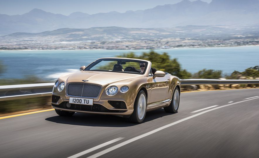 2016 Bentley Continental GT Speed - Slide 27