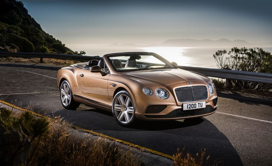 2016 Bentley Continental GT Speed - Slide 30