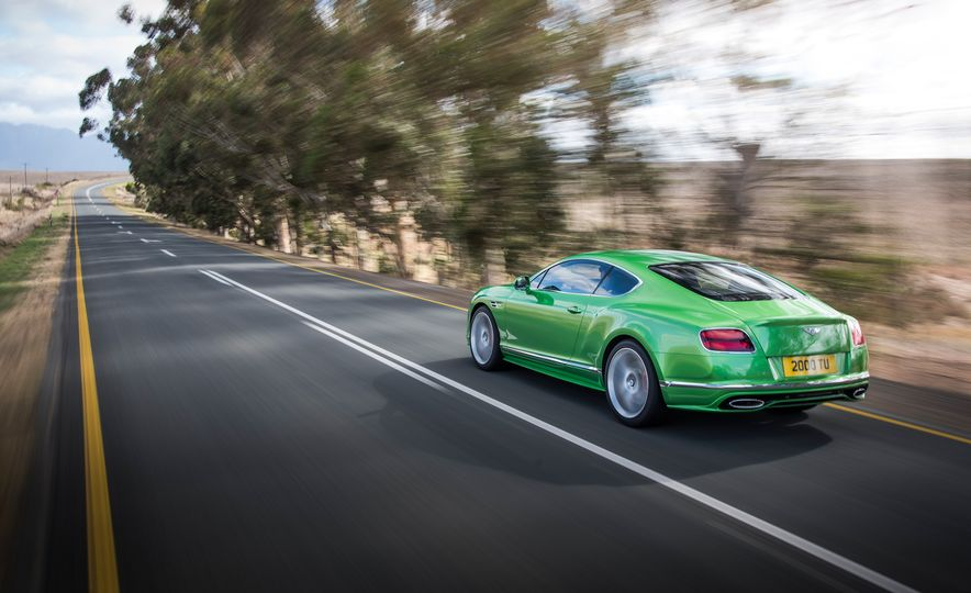 2016 Bentley Continental GT Speed - Slide 13