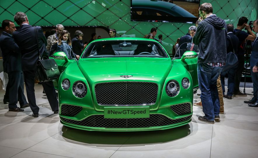 2016 Bentley Continental GT Speed - Slide 2