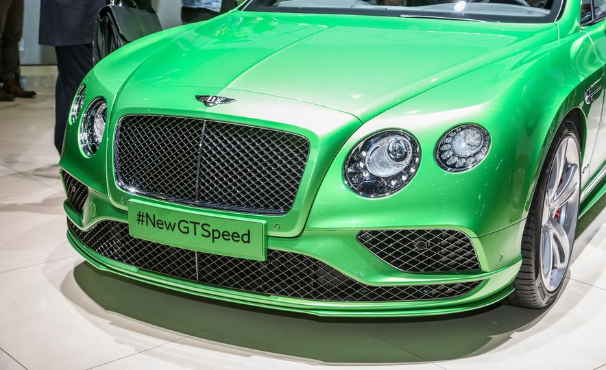2016 Bentley Continental GT Speed - Slide 3