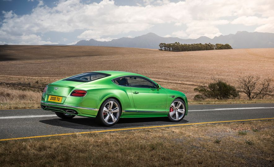 2016 Bentley Continental GT Speed - Slide 15