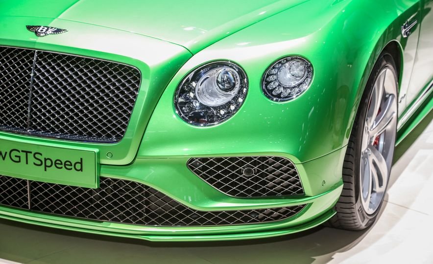 2016 Bentley Continental GT Speed - Slide 4