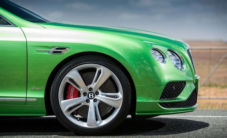 2016 Bentley Continental GT Speed - Slide 16